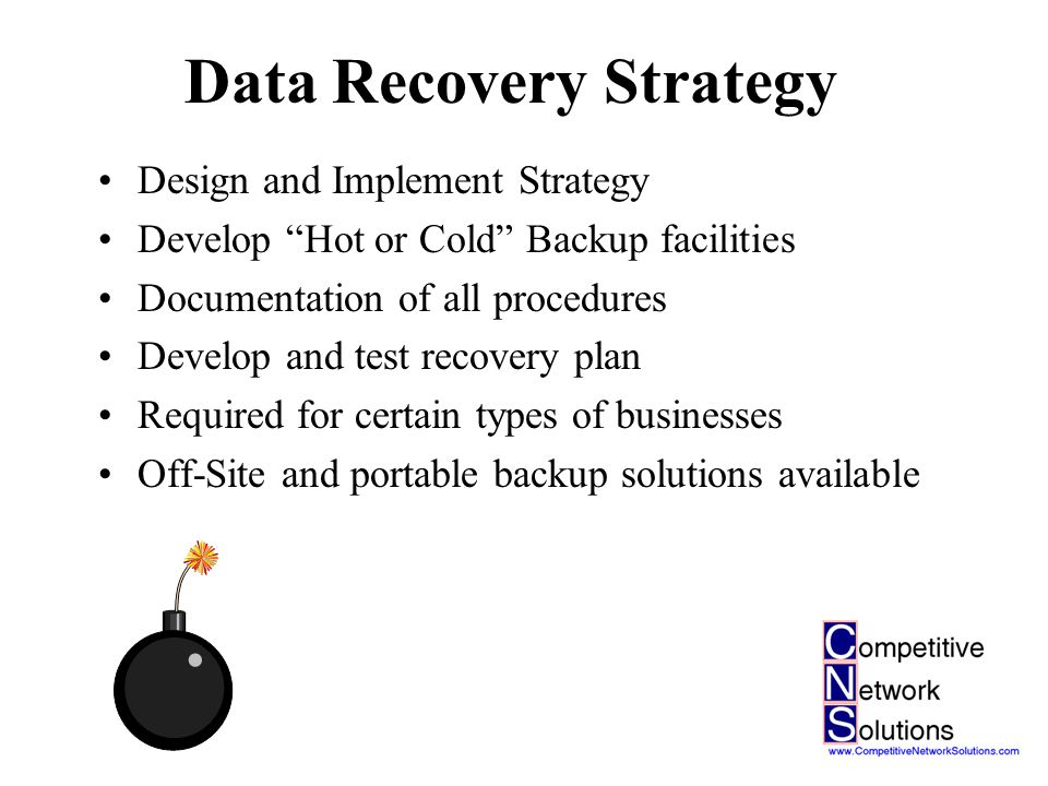 Business Continuity Planning What happens to your business if….