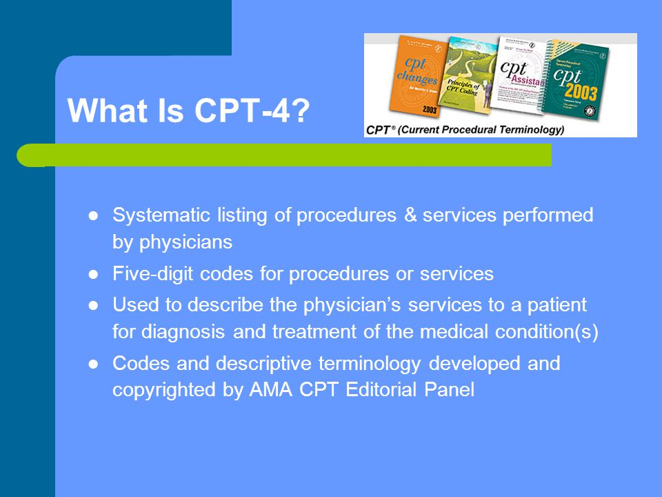 What Is CPT-4.