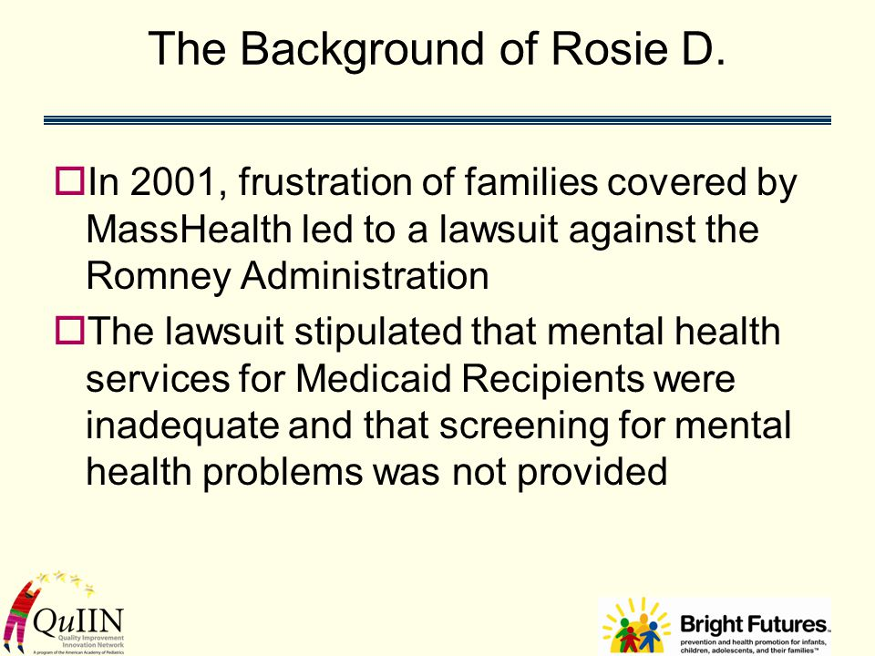 The Background of Rosie D.