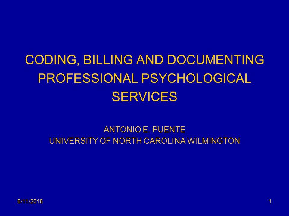Psychotherapy: RVUs CodeDescriptorRVU 90785Interactive Complexity0.11 90791Psychiatric Diagnostic Int.