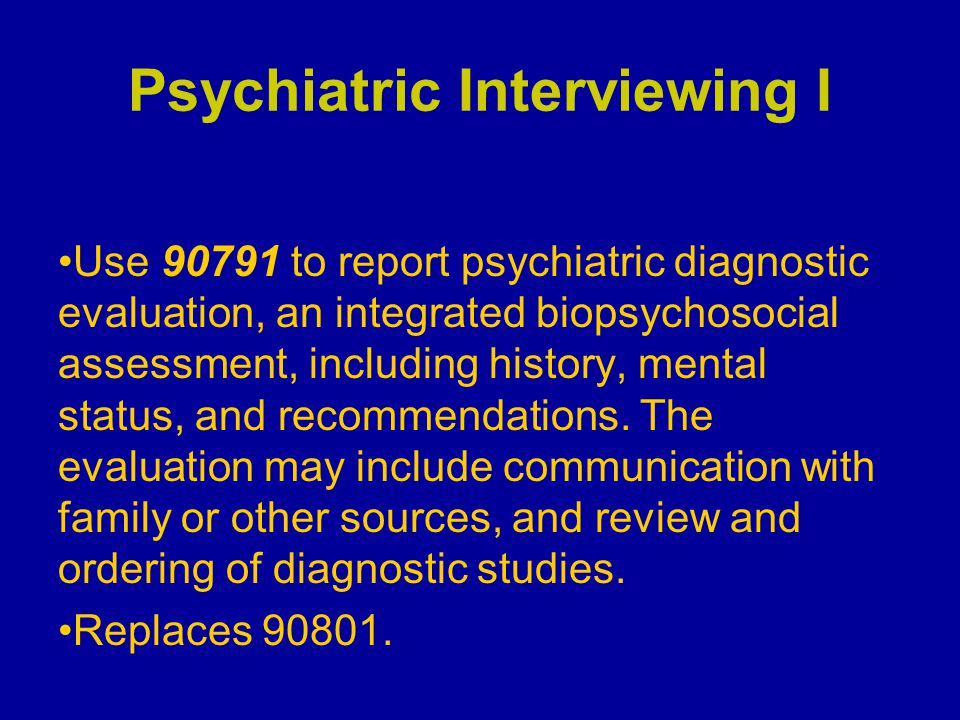 Psychotherapy: Group I Code 90785, in conjunction with code 90853, is used to report group psychotherapy for a service that includes interactive complexity (e.g., use of play equipment or other physical aids necessary for therapeutic interaction).