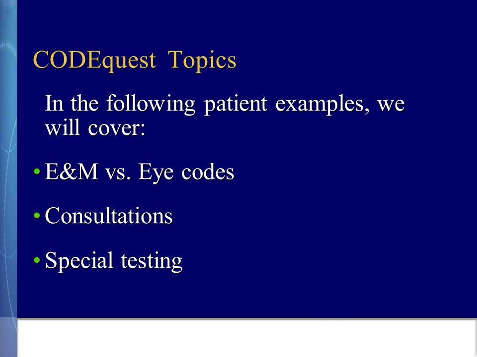 Patient #5 CC: Progressive decreased vision OU x 3 months.
