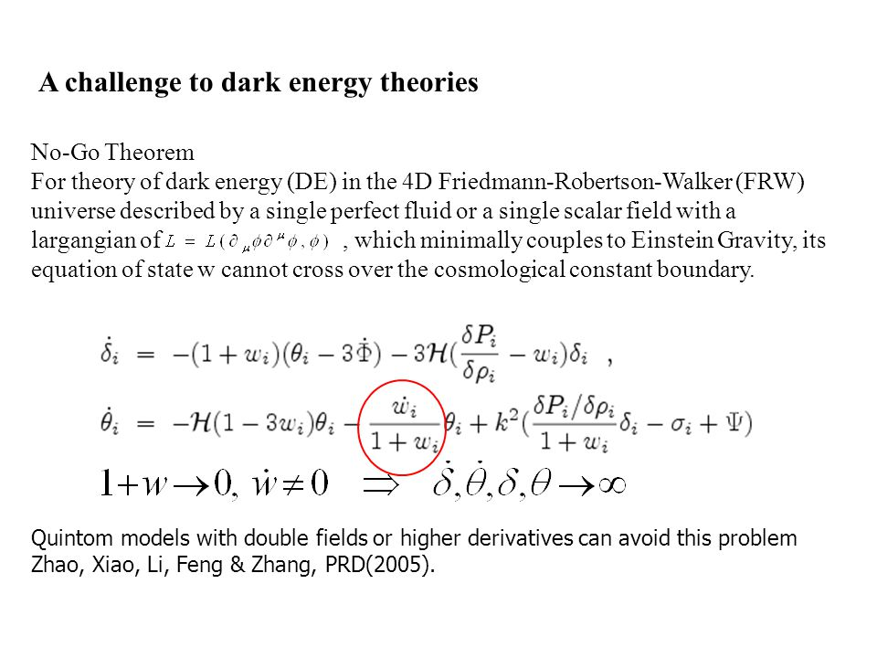 Interacting dark energy, cosmological CPT violation and baryogenesis Matter-antimatter asymmetry (Baryon number asymmetry) BBN, CMB, … Since Dirac, fundamental theories are not biased between matter and antimatter We need baryogenesis: the process to produce baryon number asymmetry Baryon number non-conserving interaction C and CP violations Departure from thermal equilibrium Sakharov conditions for baryogenesis: Precondition: CPT is conserved!