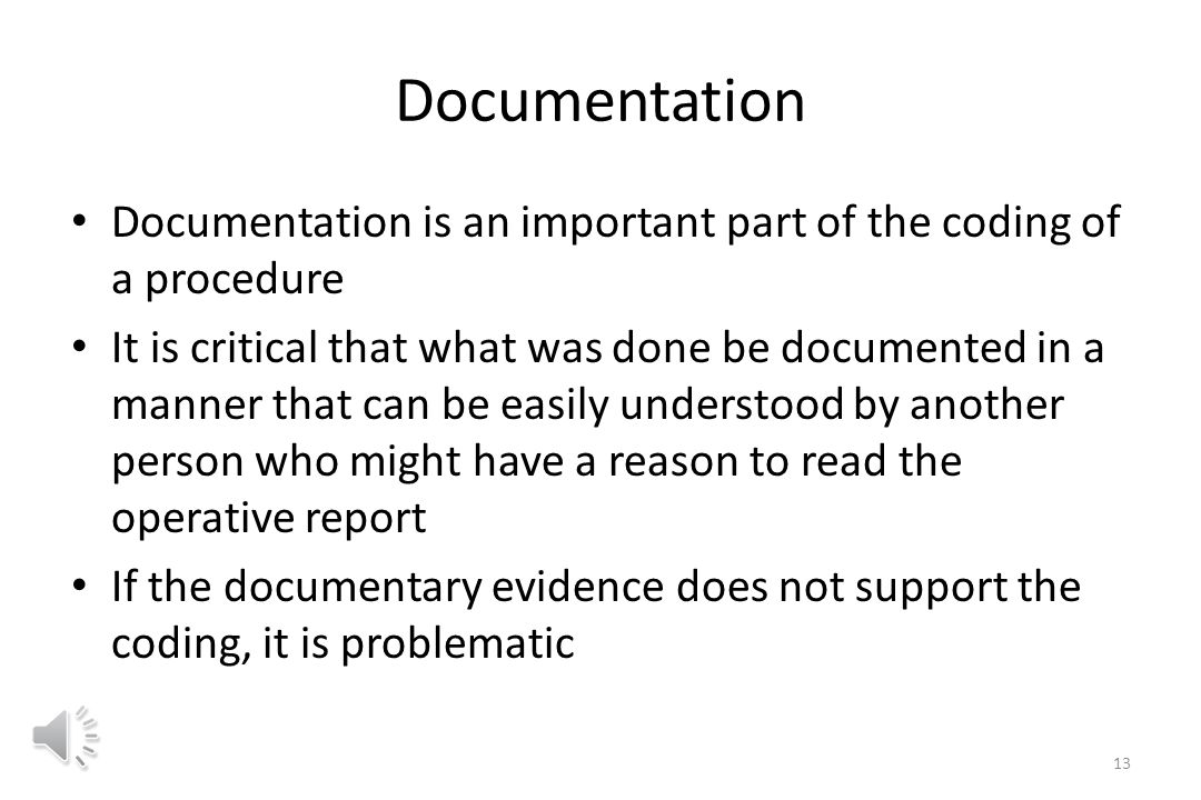 Component Coding This is a process by which multiple codes (a list) are used for a single patient encounter This list may differ somewhat from one encounter to another based upon what was actually done For example in performing a thrombectomy, there are a few basic codes that are always used, but in an individual case something additional might be required resulting in an additional code being added to the list 12