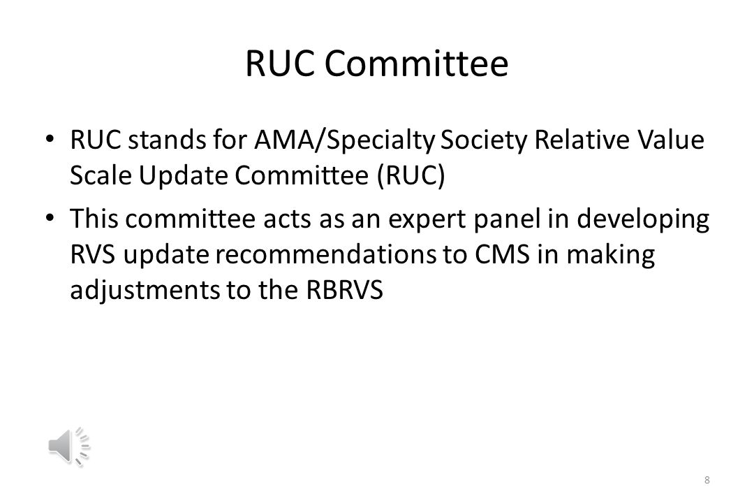 CMS is mandated to make appropriate adjustments to the RBRVS in response to the Omnibus Budget Reconciliation Act of 1989 to account for changes in medical practice coding and new data and procedures 7