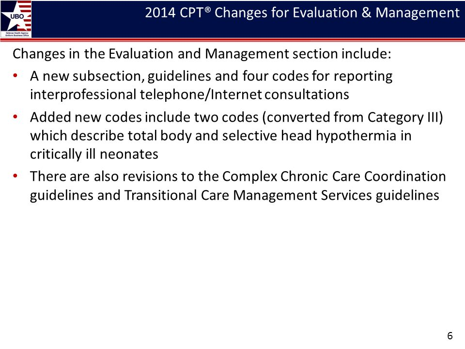 Endovascular Revascularization/Digestion 37 2013 CPT® Description2014 CPT® Description 42802 - Biopsy; hypopharynx 43191 - Esophagoscopy, rigid, transoral; diagnostic, including collection of specimen(s) by brushing or washing when performed (separate procedure) 43192 - with directed submucosal injection(s), any substance 43193 - with biopsy, single or multiple 43194 - with removal of foreign body 43195 - with balloon dilation (less than 30 mm diameter) 43196 - with insertion of guide wire followed by dilation over guide wire 43197 - Esophagoscopy, flexible, transoral; diagnostic, including collection of specimen(s) by brushing or washing when performed (separate procedure) 43198 - with biopsy, single or multiple
