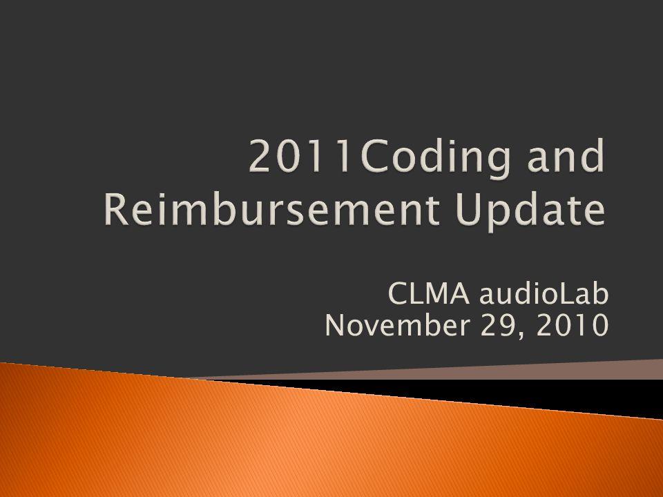 CLMA audioLab November 29, 2010