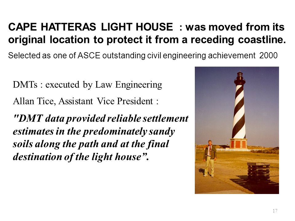 CAPE HATTERAS LIGHT HOUSE : was moved from its original location to protect it from a receding coastline.