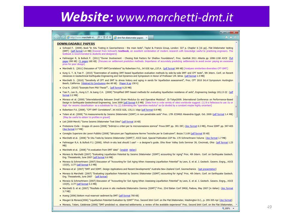 Website: www.marchetti-dmt.it 49
