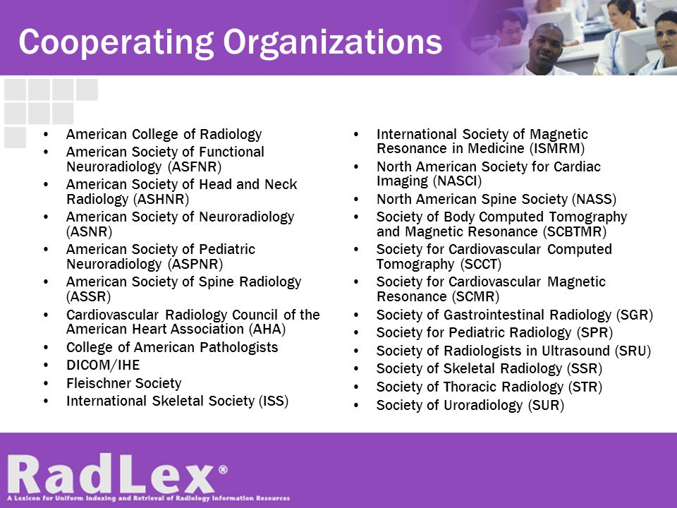 Cooperating Organizations American College of Radiology American Society of Functional Neuroradiology (ASFNR) American Society of Head and Neck Radiol