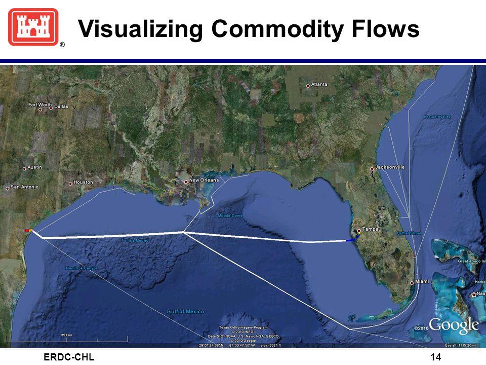 Visualizing Commodity Flows ERDC-CHL14