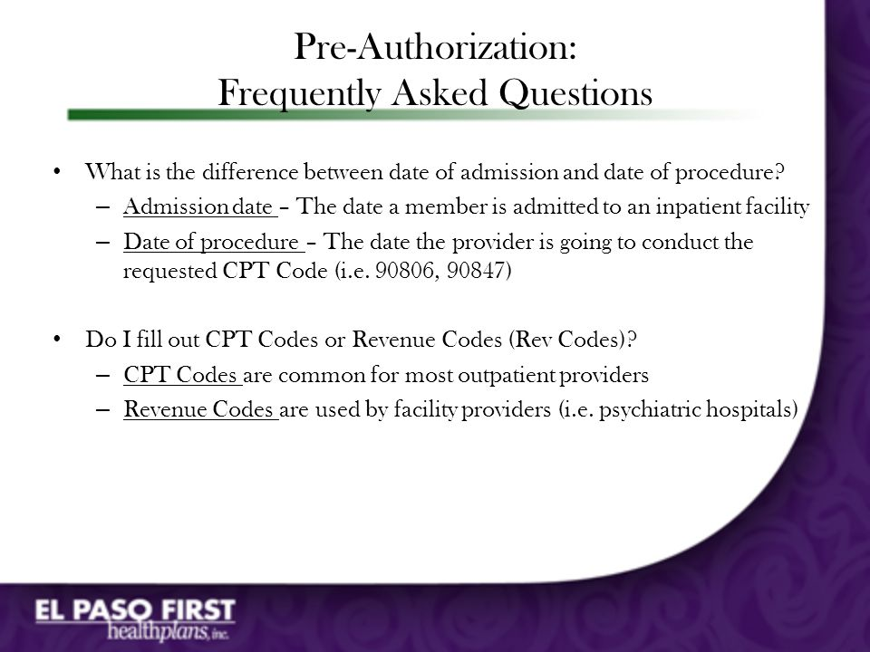 Completing the Pre-Certification Form For initial requests, please provide a brief narrative of the member's clinical presentation This information should be entered under Evaluation of initial treatment For continuation requests, please include a summary of why services need to continue This information should be included under For continuation of therapy requests...