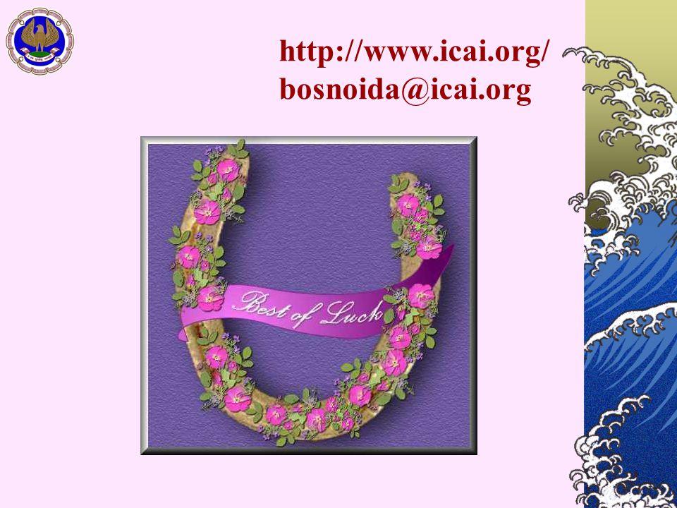 http://www.icai.org/ bosnoida@icai.org