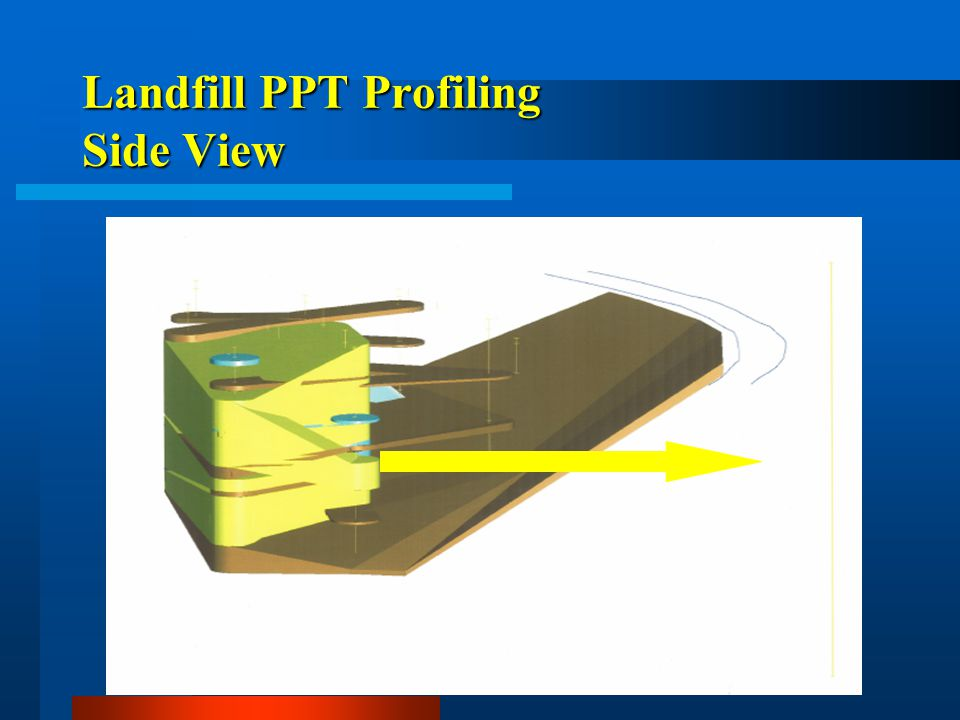 Landfill PPT Profiling Side View