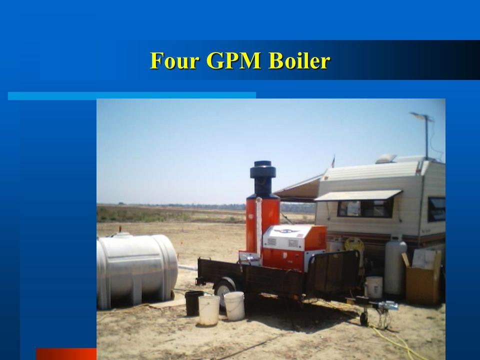 Four GPM Boiler