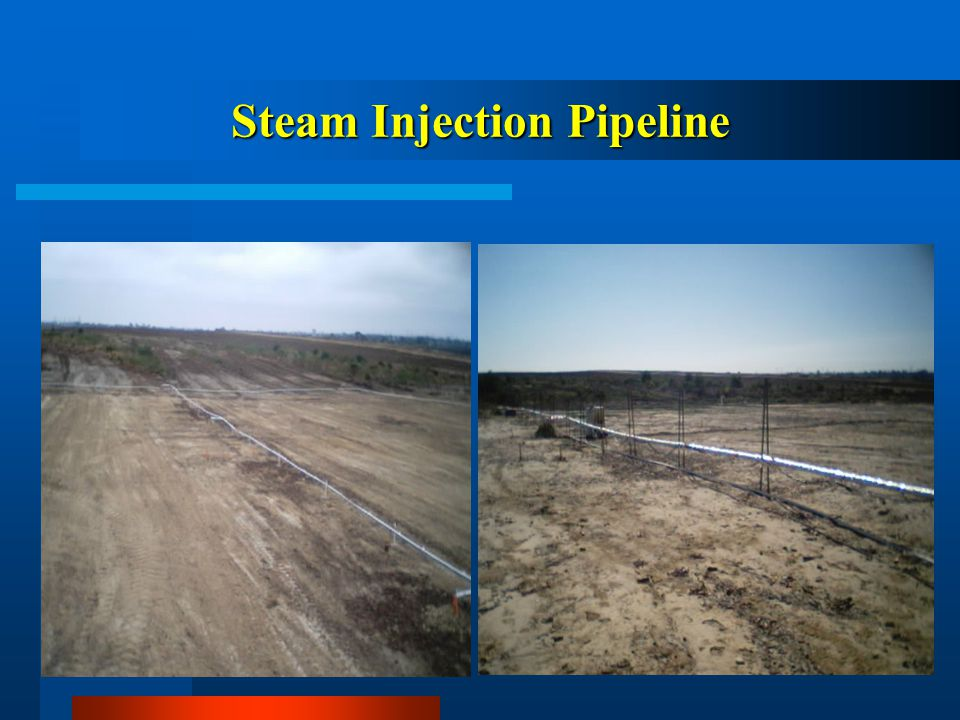 Steam Injection Pipeline