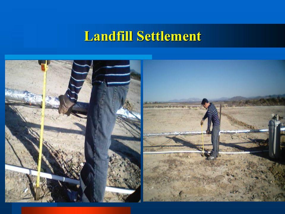Landfill Settlement