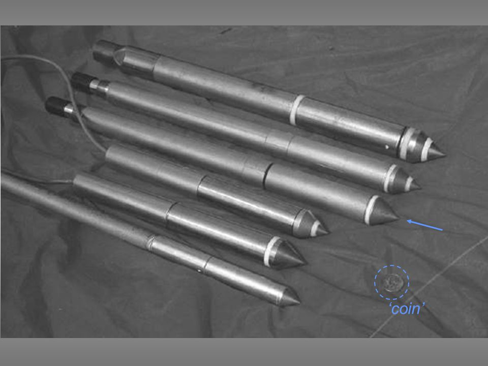 Hydraulic jack Steel tubes Continuous penetration at 2 cm/sec Cone
