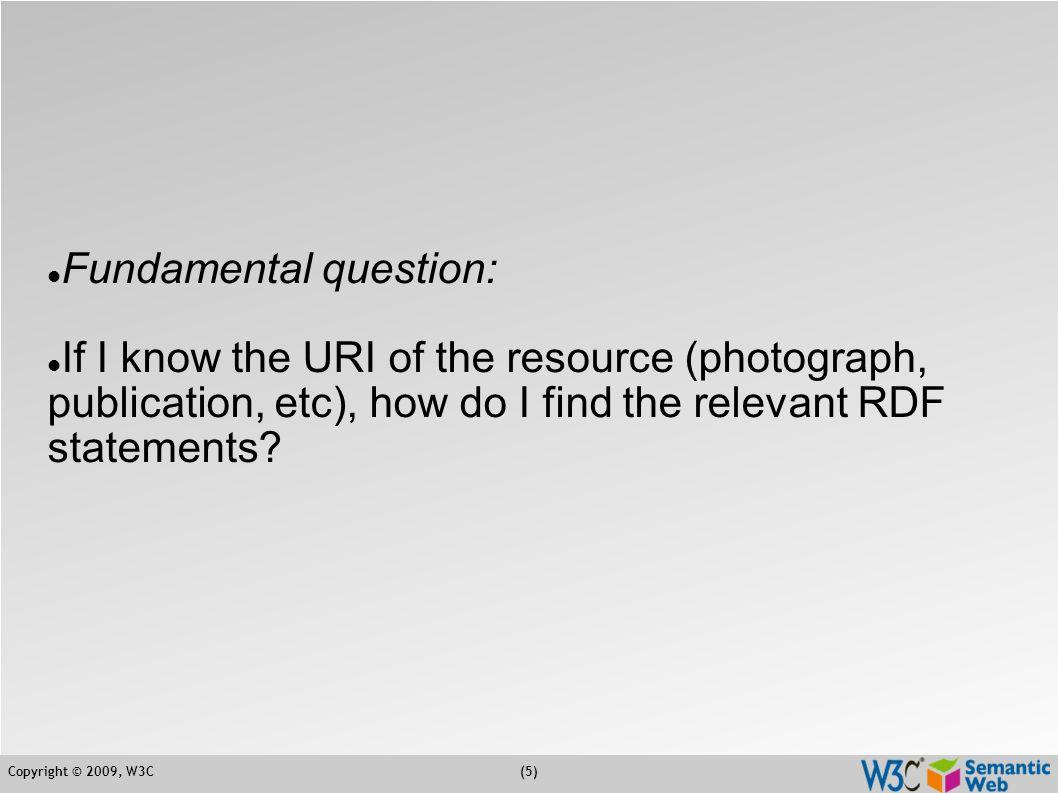 Copyright © 2009, W3C(16) Status  Last technical discussions on some IRI vs.