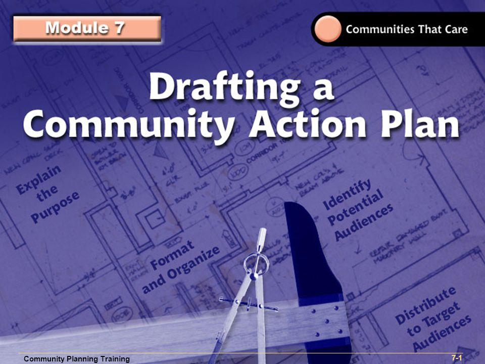 Community Planning Training 1- Community Planning Training 7-1 Community Planning Training 7-1