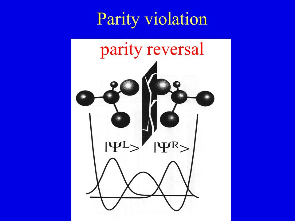 Parity violation parity reversal