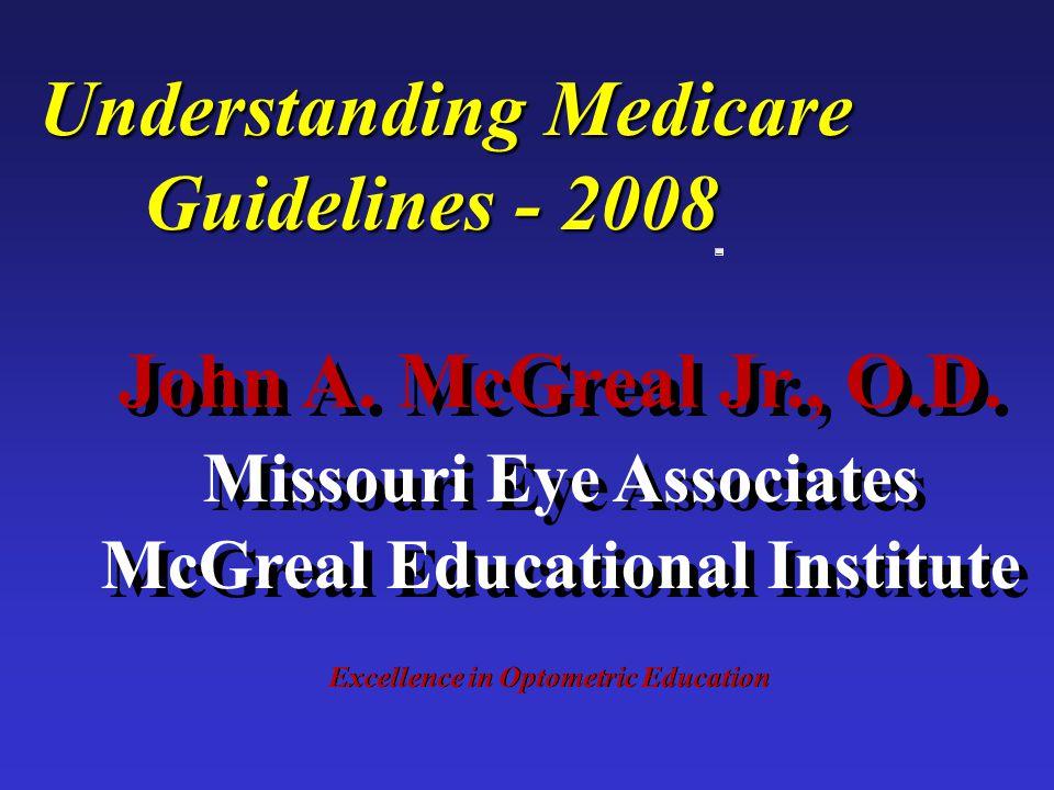 JAM John A.McGreal Jr., O.D. n Missouri Eye Associates n 11710 Old Ballas Rd.