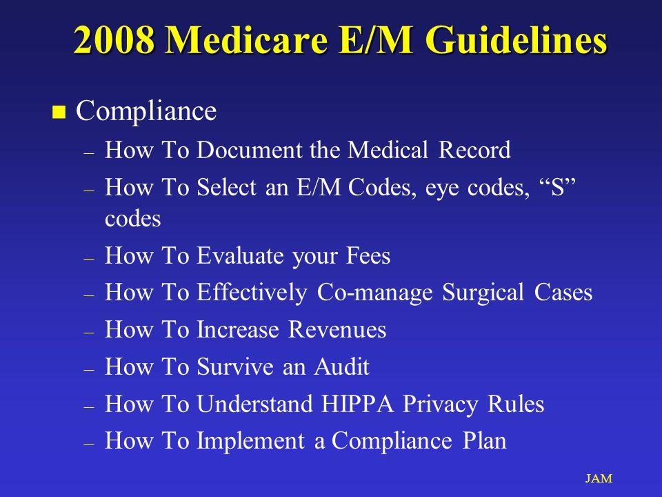 JAM Health Insurance Portability and Accountability Act of 1996 n President Clinton & USAG J.