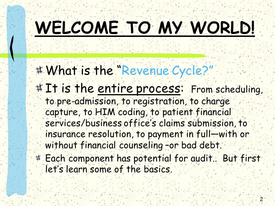 3 Outlining The Revenue Cycle