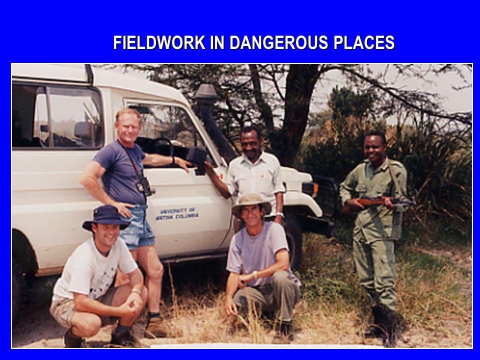 7 FIELDWORK IN DANGEROUS PLACES