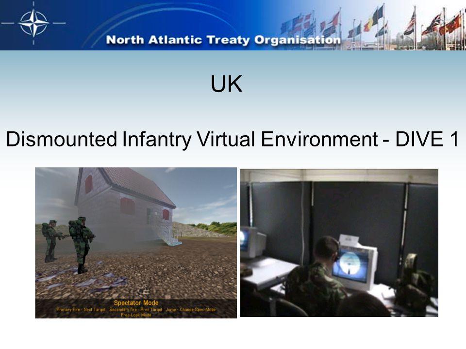 UK Dismounted Infantry Virtual Environment - DIVE 1