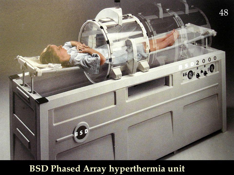 BSD Phased Array hyperthermia unit 48