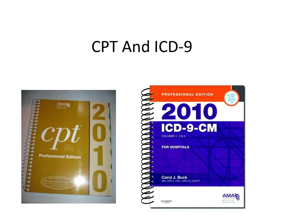 CPT And ICD-9