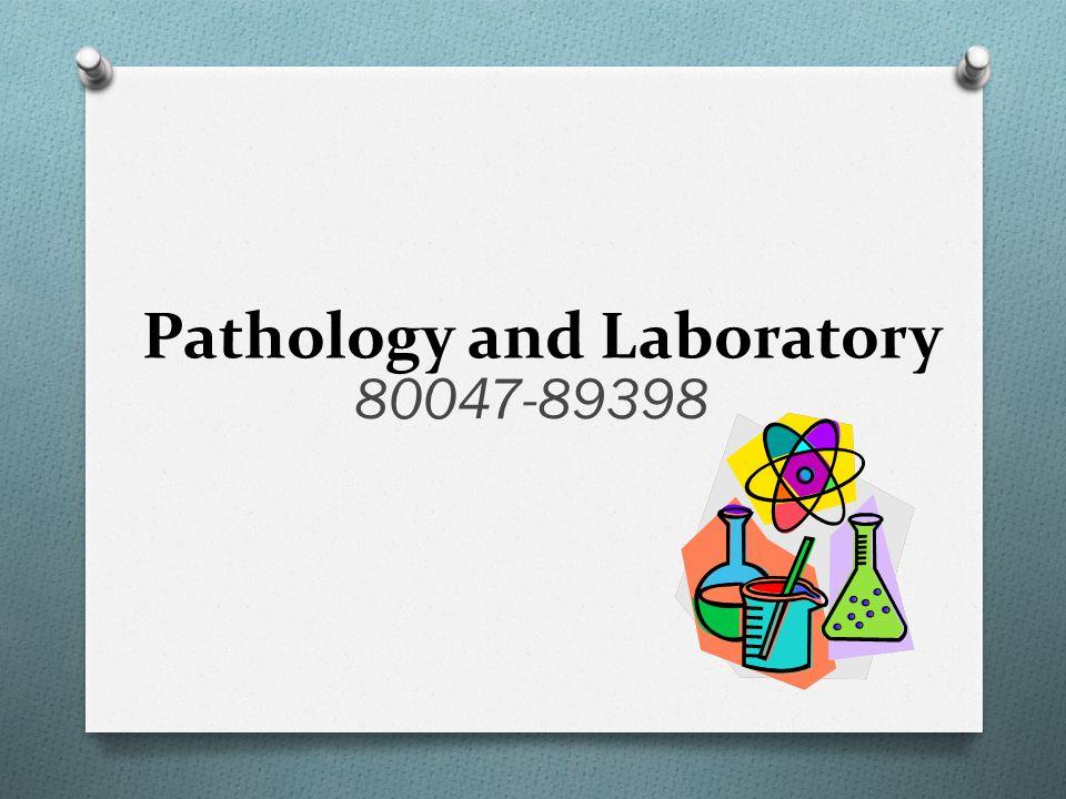 Pathology and Laboratory 80047-89398