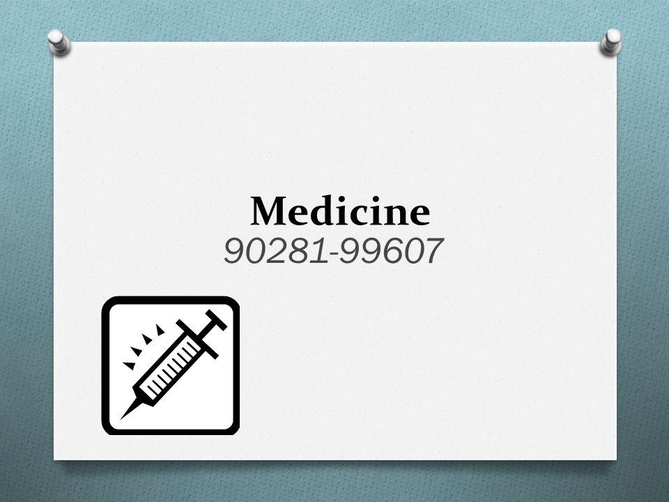 Medicine 90281-99607