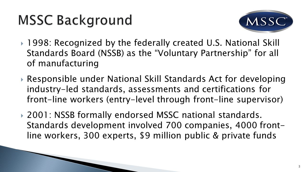  1998: Recognized by the federally created U.S.