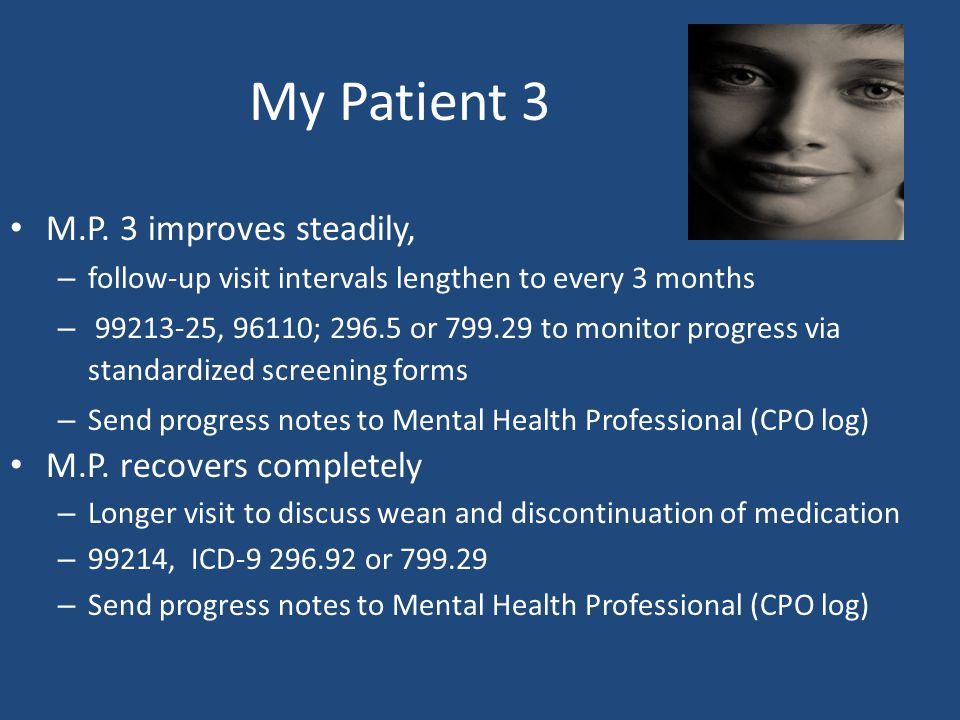 My Patient 3 M.P.