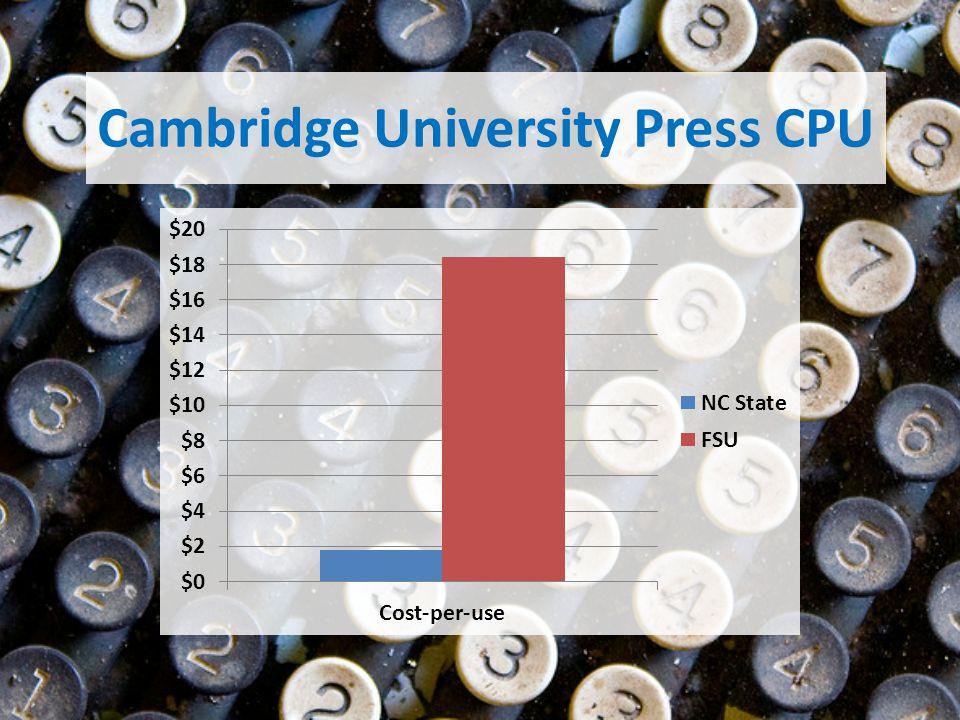 Cambridge University Press CPU