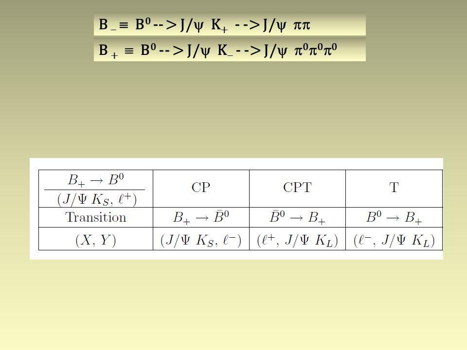 B   B 0 -- > J/  K + - -> J/   B +  B 0 -- > J/  K  - -> J/   0  0  0