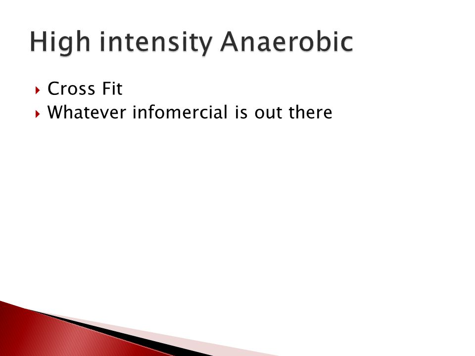  Cross Fit  Whatever infomercial is out there