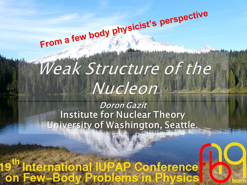  Due to the huge effects of the nuclear structure, studying the weak structure of the nucleon in muon capture processes has reduced to the proton.