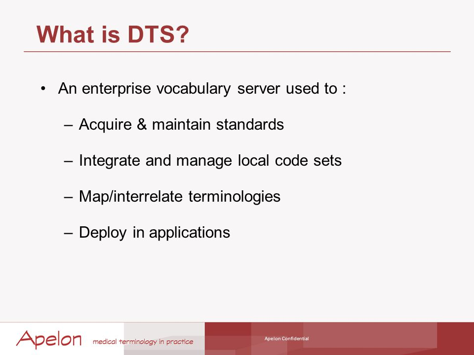 DTS Roadmap Platform Support –New database support for DB2 (Q4 2010) and MySQL (Q1 2011).