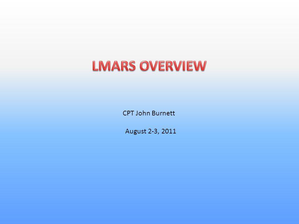 CPT John Burnett August 2-3, 2011