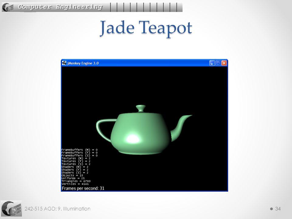 242-515 AGD: 9. Illumination34 Jade Teapot
