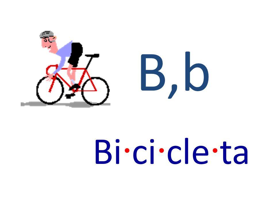 B,b Bi · ci · cle · ta