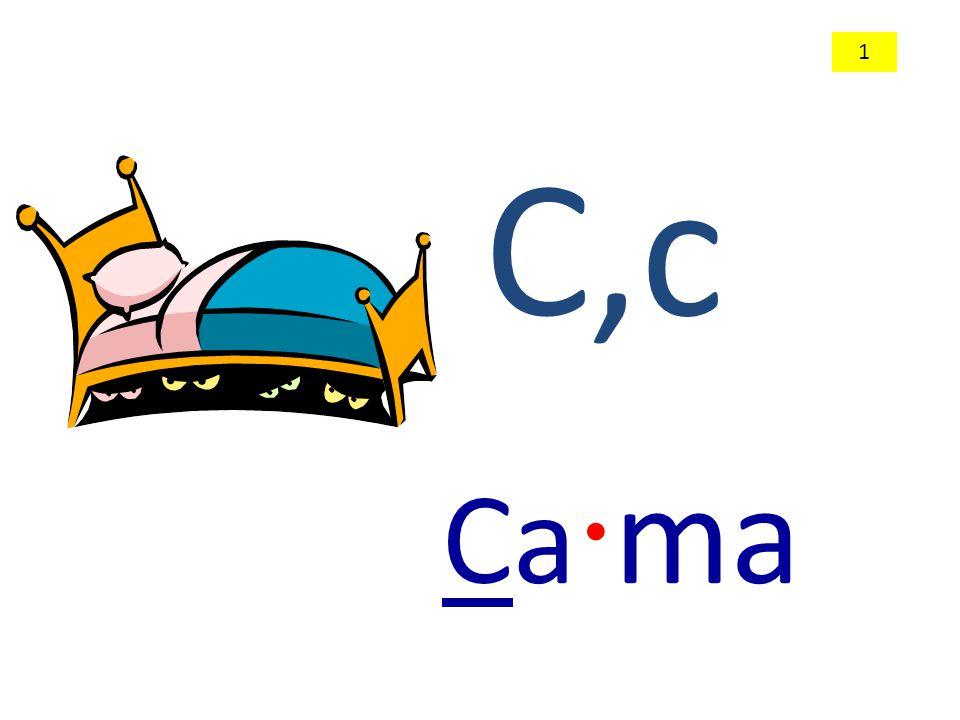 C,c Ca · ma 1