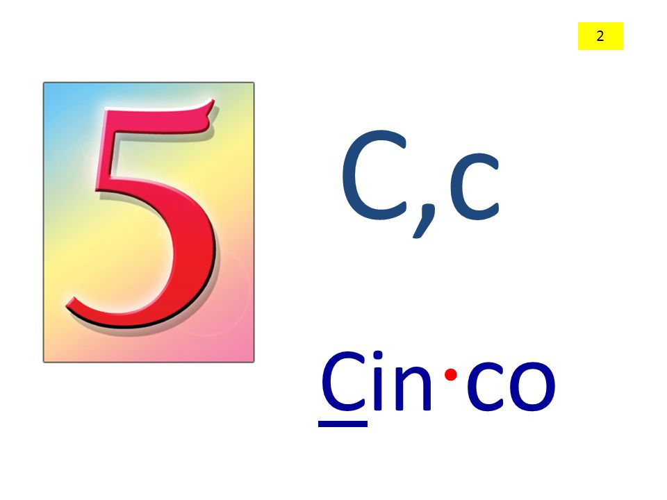 C,c Cin · co 2