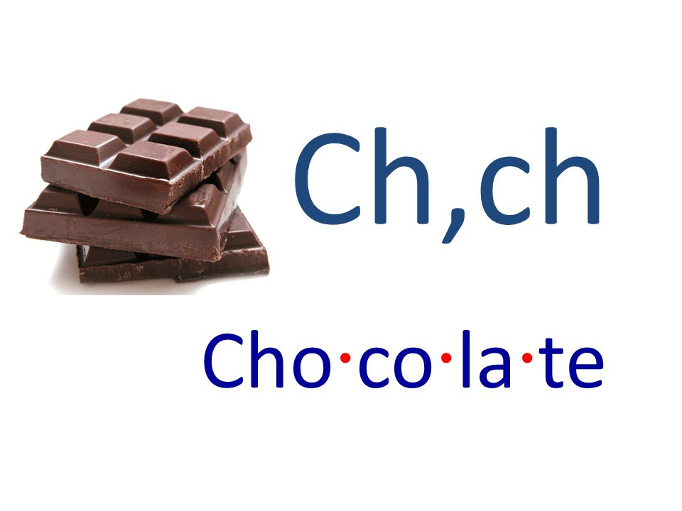 Ch,ch Cho · co · la · te