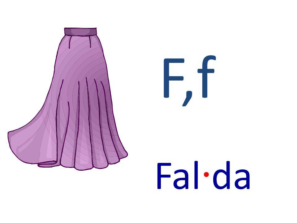 F,f Fal · da