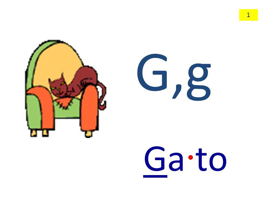 G,g Ga · to 1