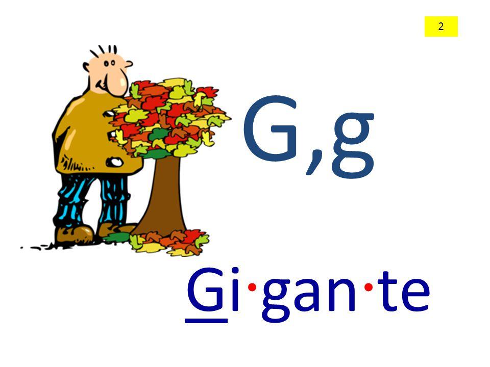 G,g Gi · gan · te 2